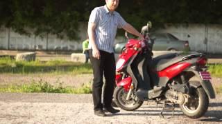 Тайваньский скутер SYM Orbit 50