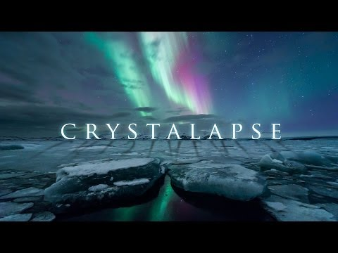 Crystalapse - ice caves, waterfalls, and the aurora borealis