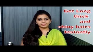 3 Best methods to get Long,Thick & Shiny hairs Fast(GUARANTEED)