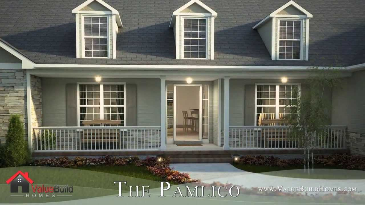 3d virtual tour of pamlico house plan youtube for House plans with virtual tours