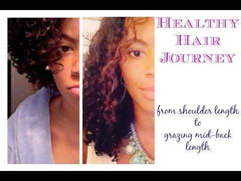 Hình ảnh trong video Healthy Hair Journey: Shoulder Length to