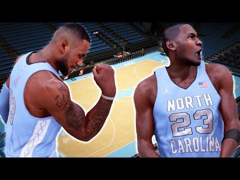 NBA 2k16 My Team Gameplay Ep. 1 - How to Create UNC Tar Heels! Custom Uniforms & Dean Dome Stadium
