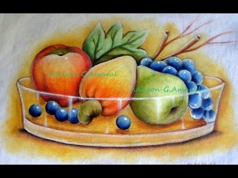 Frutas - Pintura em Tecido