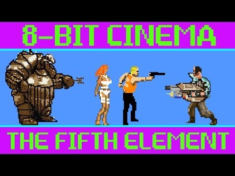 The Fifth Element - 8 Bit Cinema