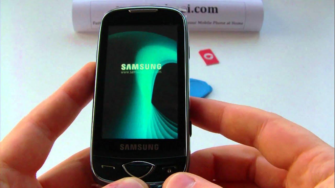Samsung gts5230 gts5230lkaser