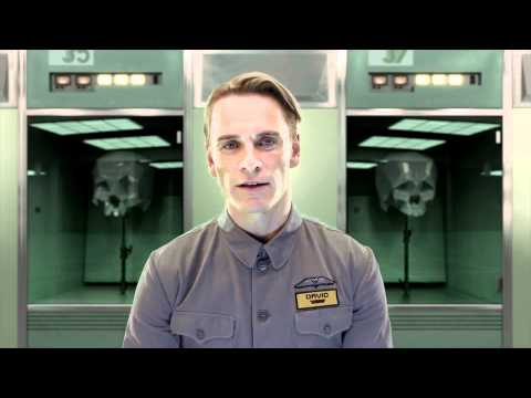 Prometheus - Viral Video - Meet David (2012) Ridley Scott Movie HD