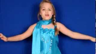FROZEN Let It Go Cover 8 Year Old Gracie Sings As Elsa