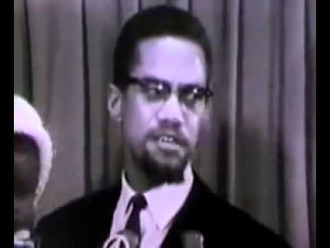 Malcolm X on the Assasination of Patrice Lumumba in the Congo