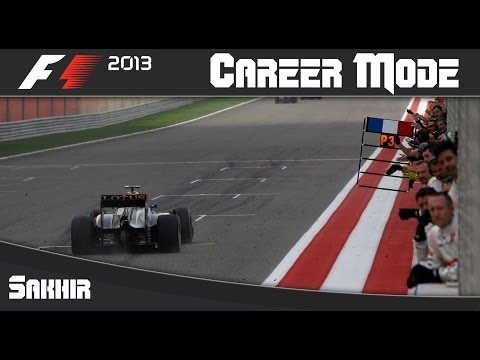 F1 2013 Career Mode: Round 4 Bahrain Grand Prix (Sakhir)