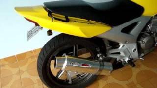 Twister Amarela Partida Controle
