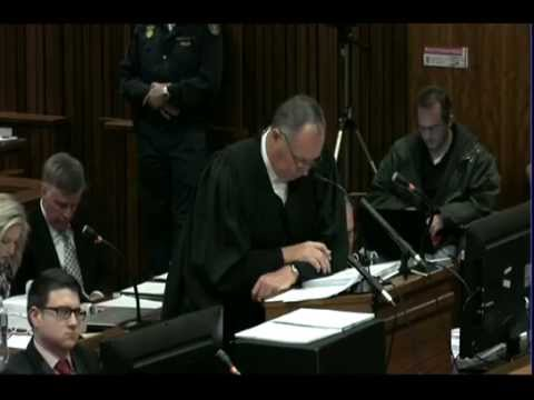Oscar Pistorius Trial: Wednesday 2 July 2014, Session 2