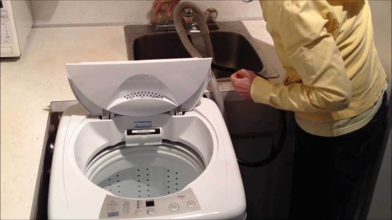 Dryer: Haier Washer Dryer Combo on