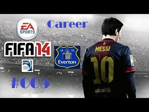"Let's Play FIFA 14 - #005 ""Distin the Megaman!"""