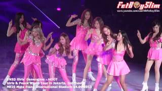 SNSD GIRLS' GENERATION - HOOT ( Opening ) live in Jakarta, Indonesia 2013 view on youtube.com tube online.