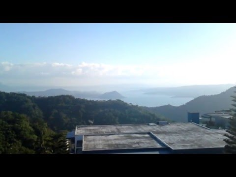 Panorama of Taal Volcano - Tagaytay City