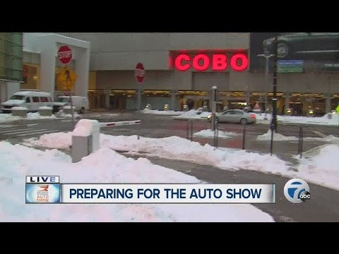 Preparing for the North American International Auto Show