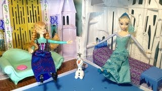 FROZEN Castle And Ice Palace Playsett Disney Princess Anna