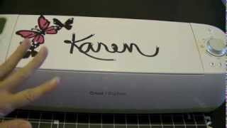 Cricut Explore How To Cut Out Your Own Handwriting