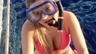 DIVING WITH SHARKS! | iJustine