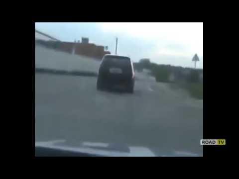 Погоня за BMW X5,