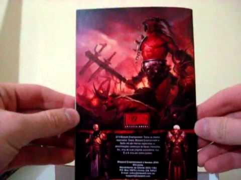 Unboxing Diablo 3