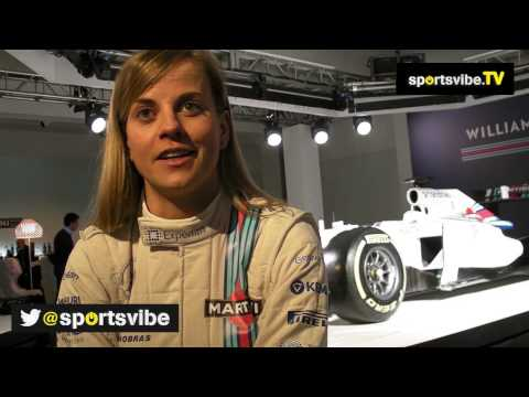 F1 Driver Susie Wolff Looks Ahead To the 2014 Season