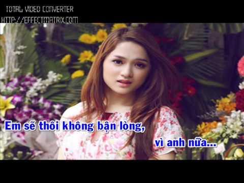 Từ Ngày Mai Em Sẽ Khác-Hương Giang idol- Karaoke Version