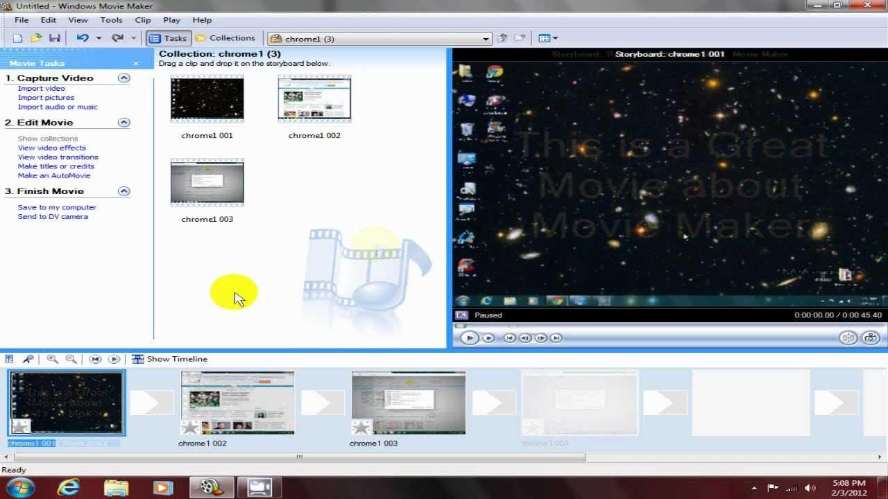 download windows movie maker 26 for windows 7 32 bit