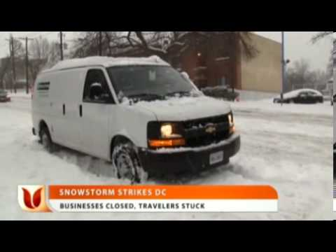Snowstorm Strikes DC