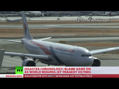 MH17 Chronology: Boeing-777 crashes over E. Ukraine battle-zone, blame game begins