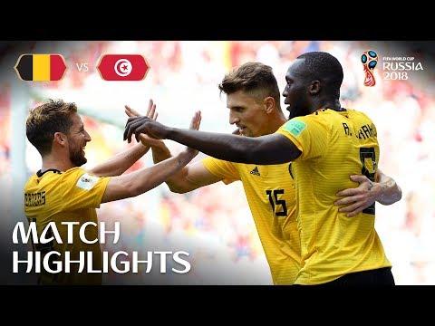 比利时5比2血洗突尼斯 进球效率让C罗颤抖了吗