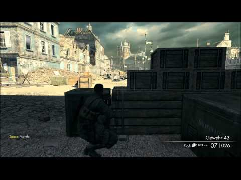Sniper Elite V2 09 Kreuzberg HQ 1 of 2 Sniper Elite Difficulty