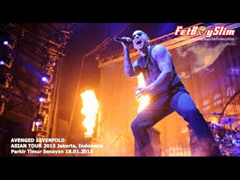 A7X AVENGED SEVENFOLD - HAIL TO THE KING live in Jakarta, Indonesia 2015