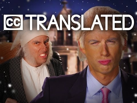 [TRANSLATED] Donald Trump vs Ebenezer Scrooge. Epic Rap Battles of History. [CC]