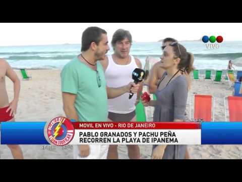 Pachu y Pablo en las Playas de Brasil 2014