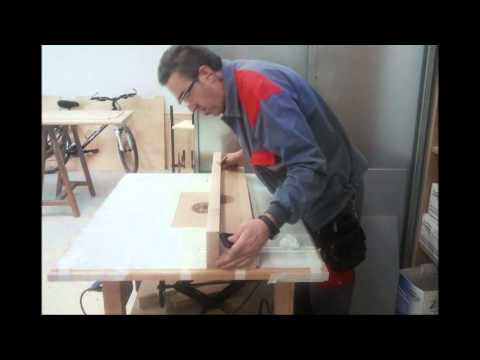 Mesa Para Fresadora Portatil Youtube