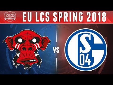 MM vs S04, Game 4 - EU LCS 2018 Spring Promotion  - Mysterious Monkeys vs Schalke04 G4