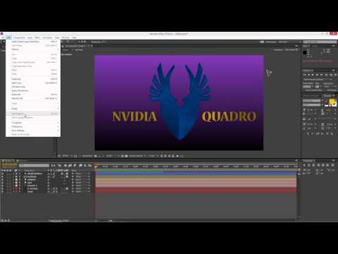 news: Simplify Motion Graphics Workflows with NVIDIA Quadro Accelerated After Effects 3D Ray Tracing