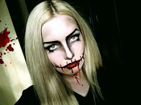 BLOODY MARY - Halloween Makeup Tutorial - makeup Video