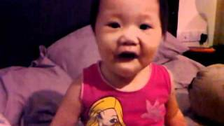 2 year old Summer singing Justin Bieber.3GP view on youtube.com tube online.
