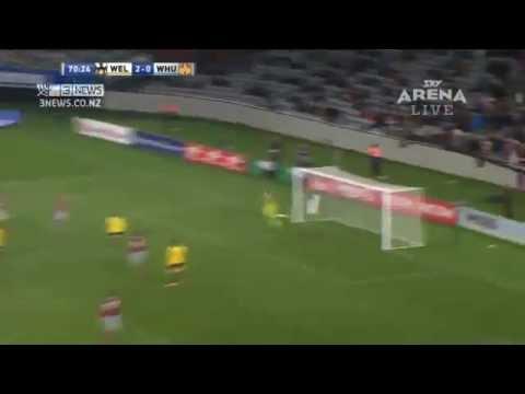 West Ham beaten by Wellington Phoenix