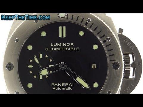 Panerai Luminor Submersible PAM 305 Caliber P.9000 In-House Movement