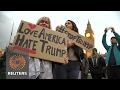 UK defends Trump state visit offer despite protest