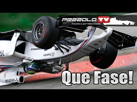 Capotagem de Felipe Massa no GP da Alemanha - Videocast