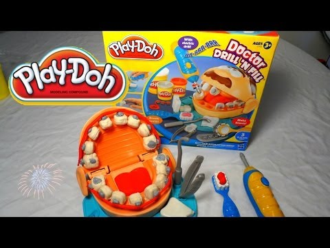 Play- Doh  Dentista Dr Drill N Fill - Play Doh Dentis| Mundo de Juguetes