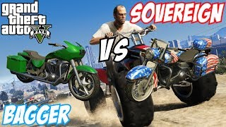 GTA 5 Western Sovereign Vs Western Bagger (Franklin's