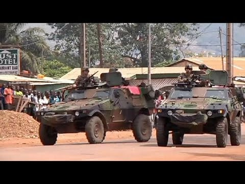 French troops continue struggle for control of Bangui