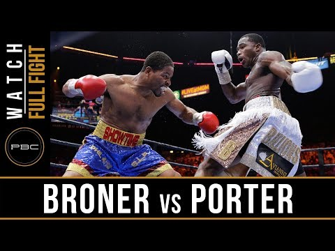 FULL FIGHT: Adrien Broner vs Shawn Porter - 6/20/2015 - PBC on NBC