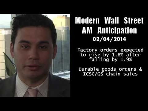 Modern Wall Street AM Anticipation: February 04, 2014