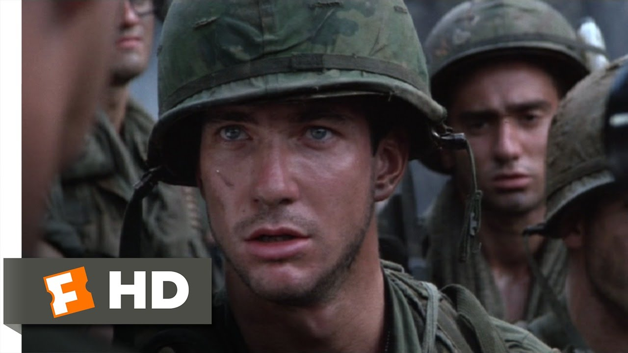 Hamburger Hill (8/10) Movie CLIP - You Haven't Earned the